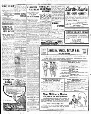 The Daily Free Press from Carbondale, Illinois on March 22, 1920 · Page 2