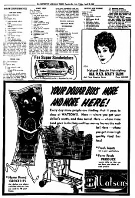 Northwest Arkansas Times from Fayetteville, Arkansas on April 25, 1969 · Page 36