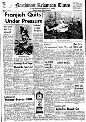 Northwest Arkansas Times from Fayetteville, Arkansas on April 24, 1976 · Page 1