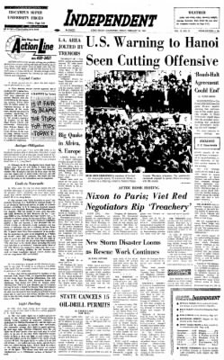 Independent from Long Beach, California on February 28, 1969 · Page 1