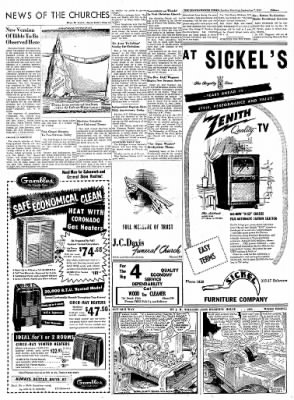 The Leavenworth Times from Leavenworth, Kansas on September 7, 1952 · Page 15
