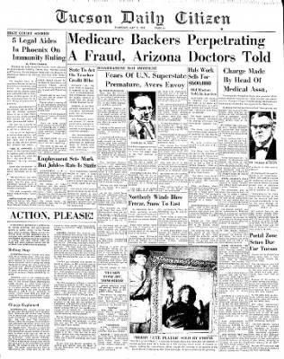 Tucson Daily Citizen from Tucson, Arizona on May 2, 1963 · Page 20