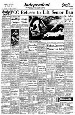 Independent from Long Beach, California on May 23, 1957 · Page 29