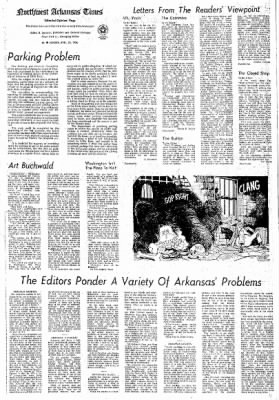 Northwest Arkansas Times from Fayetteville, Arkansas on April 25, 1976 · Page 4