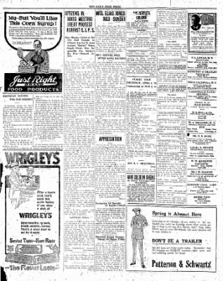 The Daily Free Press from Carbondale, Illinois on March 29, 1920 · Page 3