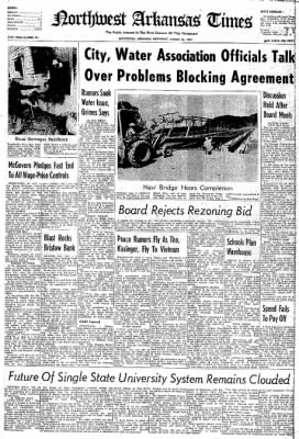Northwest Arkansas Times from Fayetteville, Arkansas on August 16, 1972 · Page 1