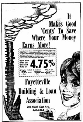 Northwest Arkansas Times from Fayetteville, Arkansas on April 25, 1969 · Page 65