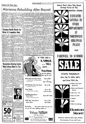 Northwest Arkansas Times from Fayetteville, Arkansas on August 16, 1972 · Page 3