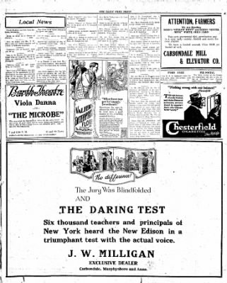 The Daily Free Press from Carbondale, Illinois on April 1, 1920 · Page 4