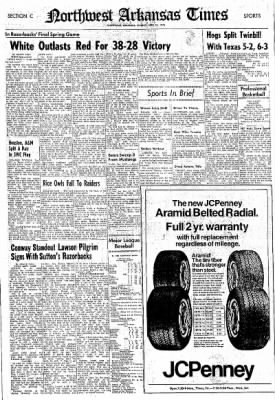 Northwest Arkansas Times from Fayetteville, Arkansas on April 25, 1976 · Page 16