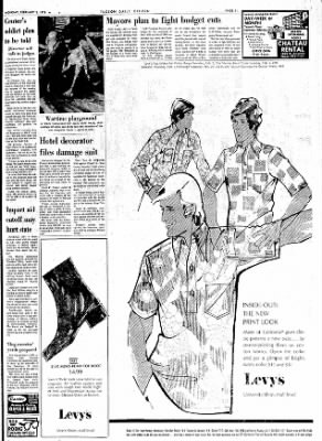 Tucson Daily Citizen from Tucson, Arizona on February 5, 1973 · Page 11