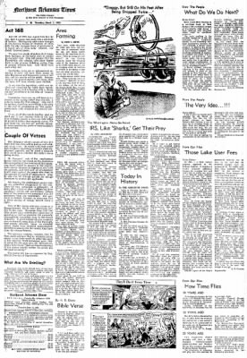 Northwest Arkansas Times from Fayetteville, Arkansas on March 1, 1973 · Page 6