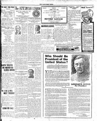 The Daily Free Press from Carbondale, Illinois on April 5, 1920 · Page 2