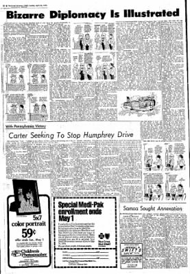 Northwest Arkansas Times from Fayetteville, Arkansas on April 25, 1976 · Page 25