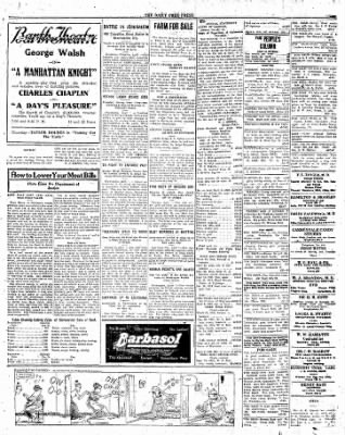 The Daily Free Press from Carbondale, Illinois on April 7, 1920 · Page 3
