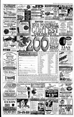 Indiana Gazette from Indiana, Pennsylvania on October 29, 2002 · Page 21