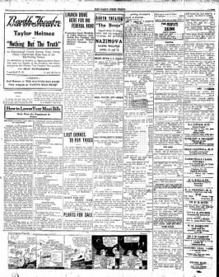 The Daily Free Press from Carbondale, Illinois on April 8, 1920 · Page 3