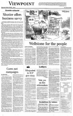 Indiana Gazette from Indiana, Pennsylvania on October 30, 2002 · Page 6