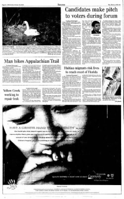 Indiana Gazette from Indiana, Pennsylvania on October 30, 2002 · Page 8