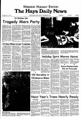 The Hays Daily News from Hays, Kansas on December 26, 1976 · Page 1