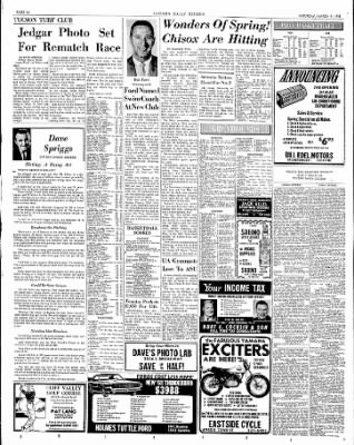 Tucson Daily Citizen from Tucson, Arizona on March 9, 1968 · Page 12