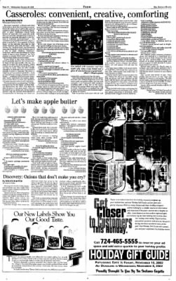 Indiana Gazette from Indiana, Pennsylvania on October 30, 2002 · Page 22