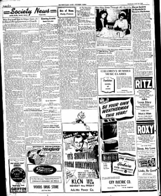 The Courier News from Blytheville, Arkansas on May 16, 1949 · Page 4