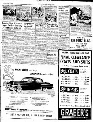 The Courier News from Blytheville, Arkansas on January 12, 1953 · Page 3