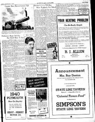 The Courier News from Blytheville, Arkansas on September 22, 1939 · Page 3
