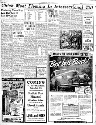 The Courier News from Blytheville, Arkansas on September 22, 1939 · Page 6