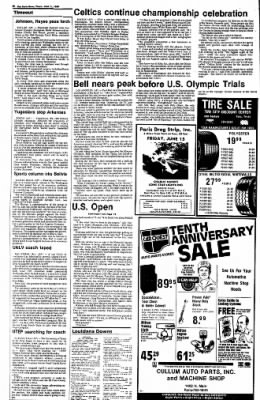 The Paris News from Paris, Texas on June 14, 1984 · Page 17