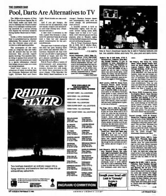 The Los Angeles Times From Los Angeles, California On September 17, 1992 ·  Page 175