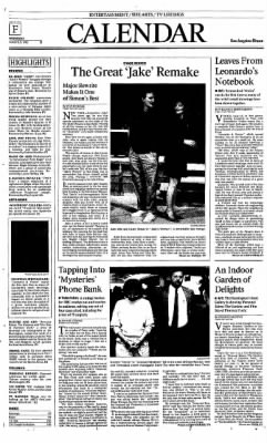 The Los Angeles Times from Los Angeles, California on March 25, 1992 · Page 59