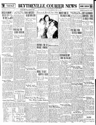 The Courier News from Blytheville, Arkansas on May 19, 1934 · Page 1
