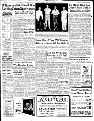 The Courier News from Blytheville, Arkansas on September 10, 1951 · Page 6