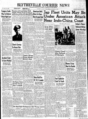The Courier News from Blytheville, Arkansas on January 12, 1945 · Page 1