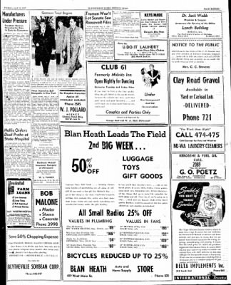 The Courier News from Blytheville, Arkansas on May 2, 1947 · Page 11