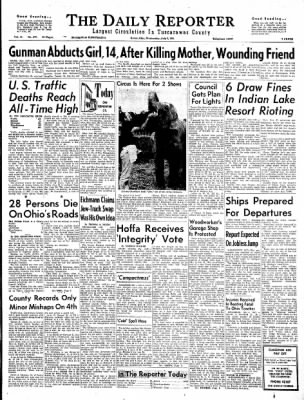 The Daily Reporter from Dover, Ohio on July 5, 1961 · Page 1