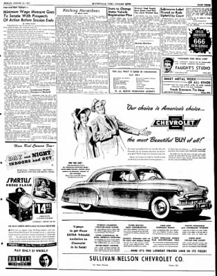 The Courier News from Blytheville, Arkansas on August 12, 1949 · Page 3