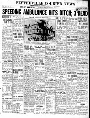 The Courier News from Blytheville, Arkansas on July 28, 1936 · Page 1