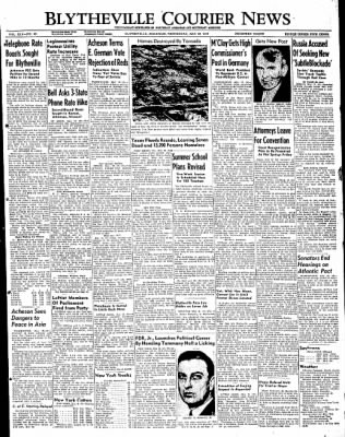 The Courier News from Blytheville, Arkansas on May 18, 1949 · Page 1