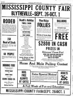 The Courier News from Blytheville, Arkansas on September 25, 1939 · Page 6
