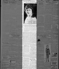 1921 newspaper article explains how Helen Keller came to support socialism