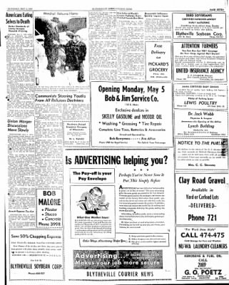 The Courier News from Blytheville, Arkansas on May 3, 1947 · Page 7