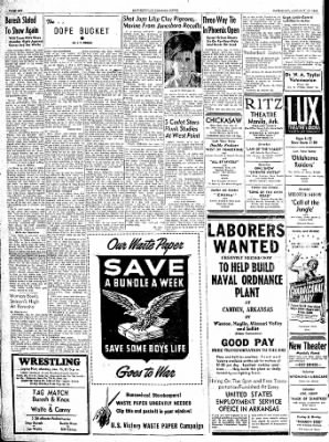 The Courier News from Blytheville, Arkansas on January 13, 1945 · Page 6