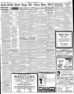 The Courier News from Blytheville, Arkansas on August 13, 1949 · Page 5