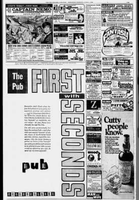 Philadelphia movie ads June 3rd, 1970