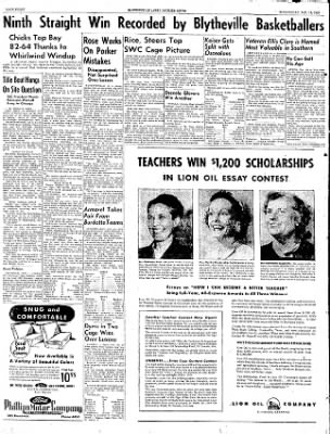 The Courier News from Blytheville, Arkansas on January 14, 1953 · Page 8