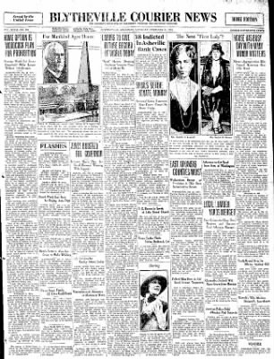 The Courier News from Blytheville, Arkansas on February 21, 1931 · Page 1