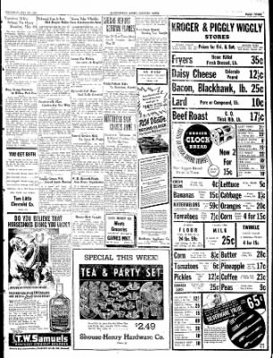 The Courier News from Blytheville, Arkansas on May 26, 1938 · Page 3